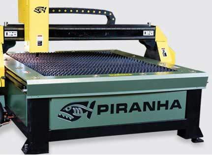 Piranha Plasma Table