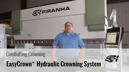 Hydraulic Press Brake With EasyCrown CNC Crowning